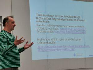 Kouluttaja Jyrki Rinta-Jouppi
